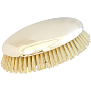 Vintage 14k Gold Clothing / Hair Brush