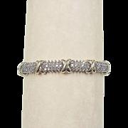 Vintage 14k Gold 2.64 ctw Diamond Bracelet