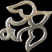 Vintage 14k Gold Dove Charm