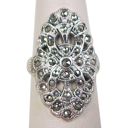 how to clean sterling silver and marcasite