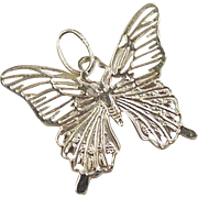 Vintage 14k Gold Butterfly Charm