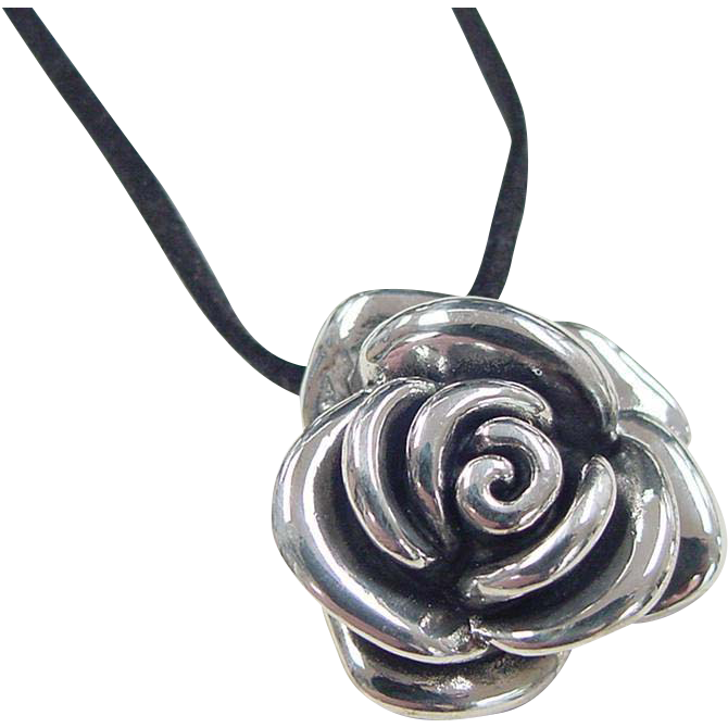 Vintage Flower Necklace 20