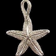 Vintage 14k Gold Starfish Charm