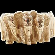 Vintage 14k Gold Kabana Elephant Charm
