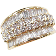 LeVian 18k Gold 2.12 ctw Diamond Ring