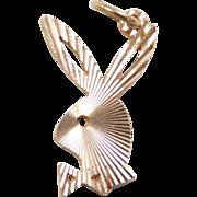 Vintage 10k Gold Playboy Bunny Charm