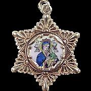 Vintage 10k Gold Religious Charm