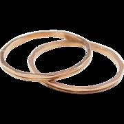 Vintage 14k Rose Gold Stacking Ring