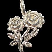 Vintage 14k Gold Rose / Flowers Charm