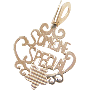 Vintage 14k Gold Someone Special Charm