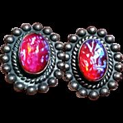 South Western Dragons Breath Earrings