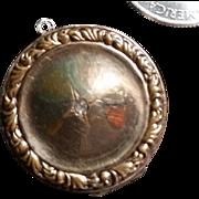 Older Gold Filled Locket w/ Paste & Monogram