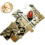 Maggi Debaecke Mixed Metal studio brooch