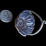 Gorham Poppy Tea Strainer Sterling Silver