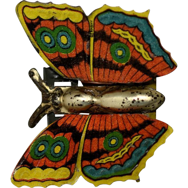 Einfalt Tin Butterfly Penny Toy