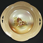 RS Germany (Tillowitz) Bowl with Mill Scene