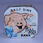 "Kalon "" Daily Dime Piggy Bank"" Register Piggy Bank"