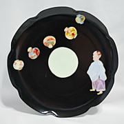 Limoges Haviland plate – Oriental man with lanterns