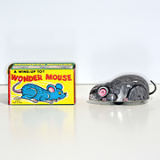 Yone Tin Windup Wonder Mouse with Box