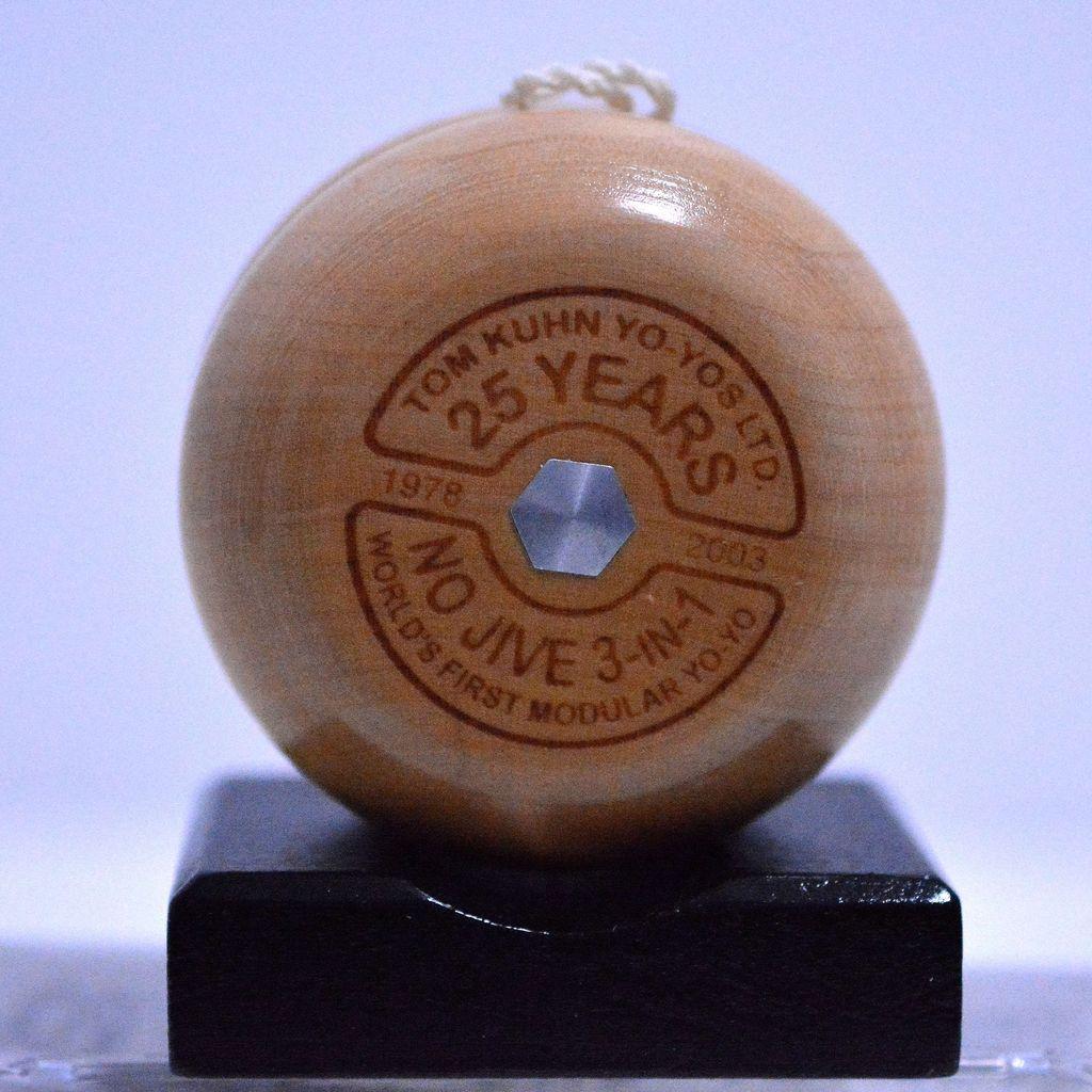 Tom Kuhn No Jive Special 3 in 1 25th Anniversary Yo-Yo Mint in Box