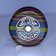 Tom Kuhn No Jive 3-IN-1 Special Laminate Butterfly Yo-Yo Mint in Box