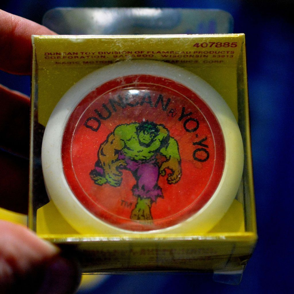 Duncan Magic MotionThe  Incredible Hulk Yo-Yo Mint in Box