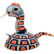 TPS Jolly Wiggling Snake Tin Wind Up