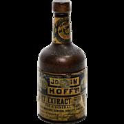 Figural Bottle Shaped Traveling Inkwell – Johan Hoff Advertising Inkwell