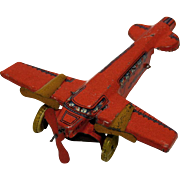 Tin Tri-Motor Penny Toy