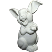 Large Rosenthal Laughing Rabbit – white