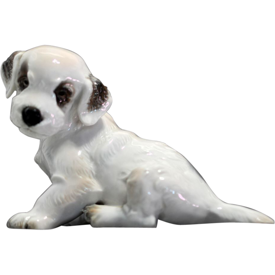 Rosenthal Sitting Terrier Puppy 1121