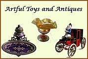 Artful Toys and Antiques logo