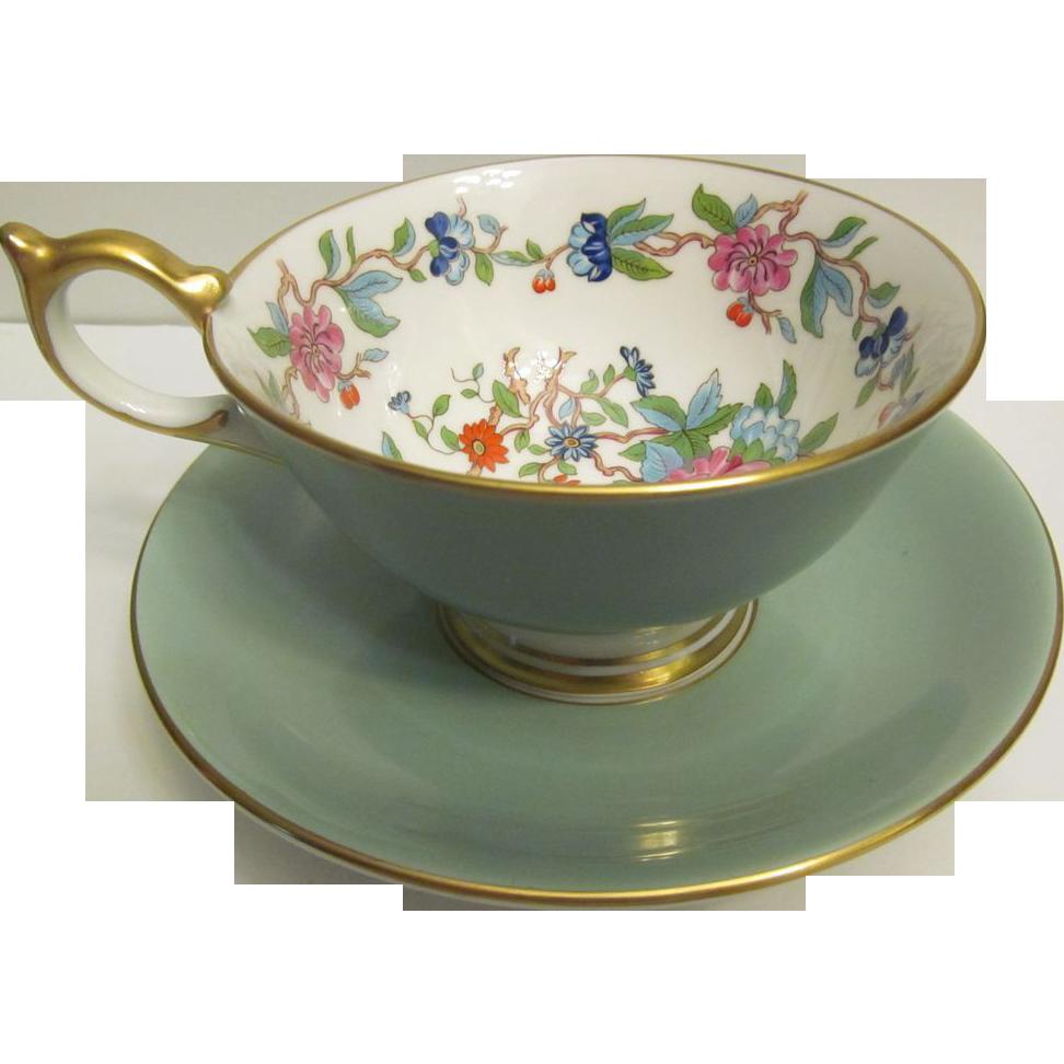 Aynsley Fine English Bone China Tea Cup and Saucer England ...