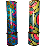 2 Kaleidoscopes By Nigel Quiney Designs London England 1960 circa