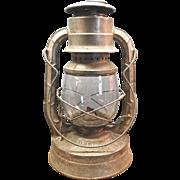 Dietz  Blizzard Lantern With Original Glass No. 2