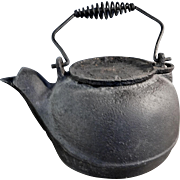 Cast Iron Black Stove Kettle