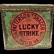 Lucky Strike Pipe Tobacco Tin
