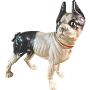 Cast Iron Boston Terrier Door Stop