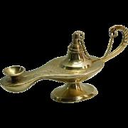 Brass Aladdin Style Lantern Saudi Arabia