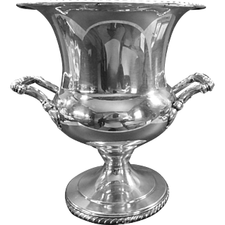 Silver-Plate Ice or Champagne Bucket Wm Rogers
