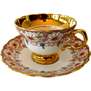 Rogina Tea Cup and Saucer Bone China England