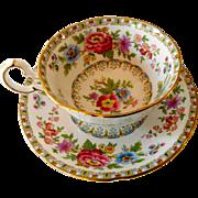 Royal Grafton China Tea Cup,  Malvern Pattern