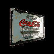 Miniature Doll House Coca Cola Mirror Advertisement Sign