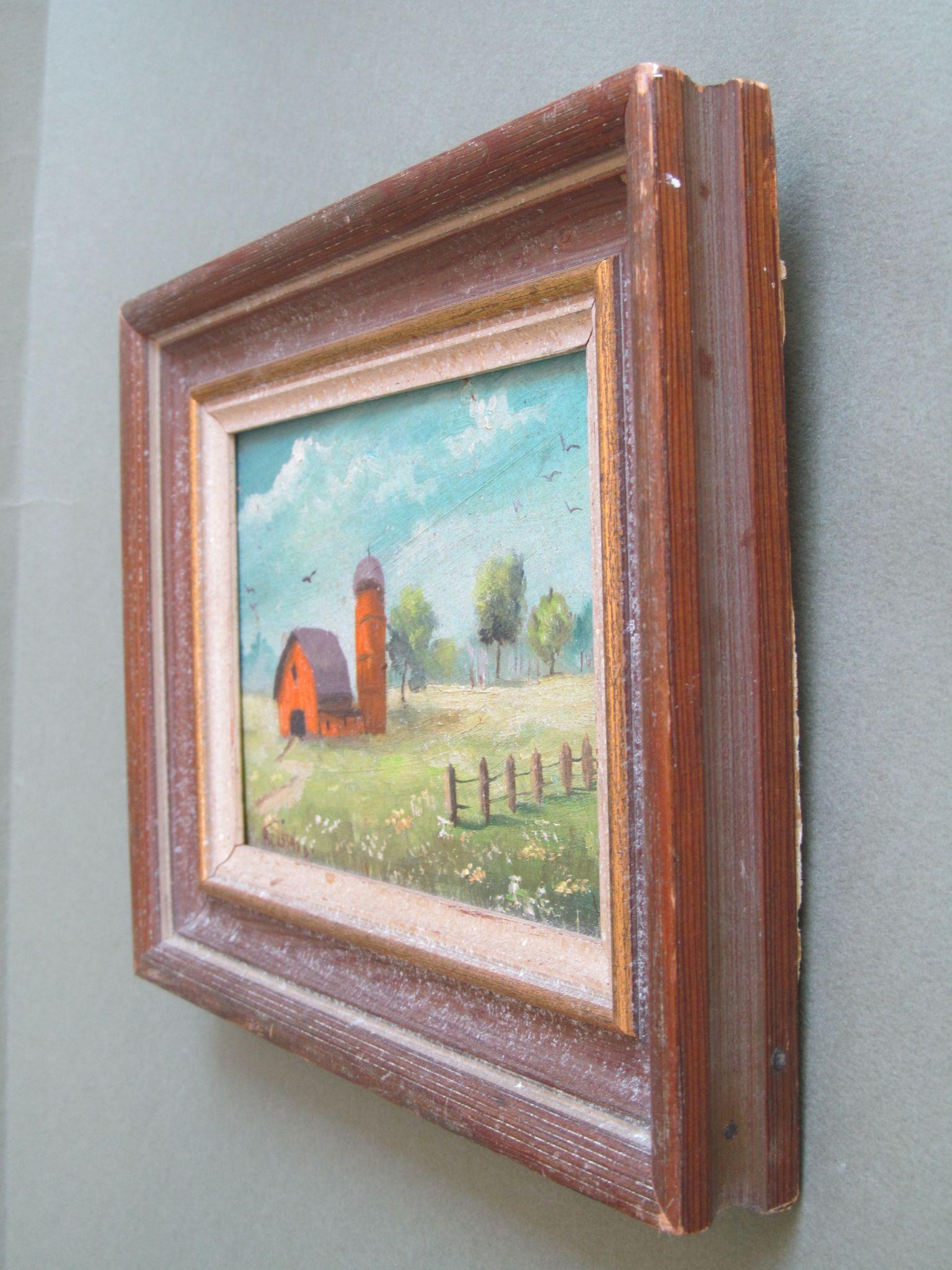 How Much To Sell A Wood Panel Oil Painting For