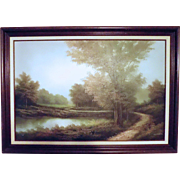 Landscape Art By Martin Oil Painting On Canvas