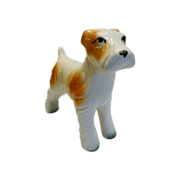 Hand Painted Whimsical Dog Figurine Made In Japan