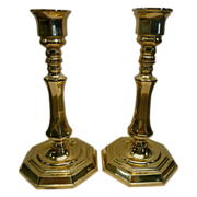 Brass Candlestick Holders by Valsan of Portugal