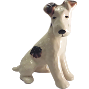 Vintage Ceramic Sitting Dog figurine.