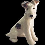 Vintage Ceramic Sitting Dog figurine.