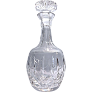 Lead Crystal Glass Decanter With Stopper  By Atlantis